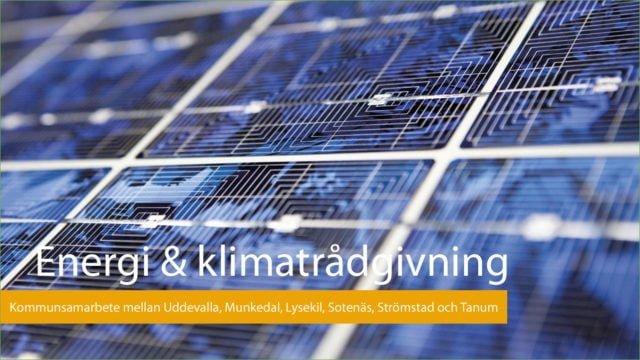 Energi och hållbarhet i Bohuslän