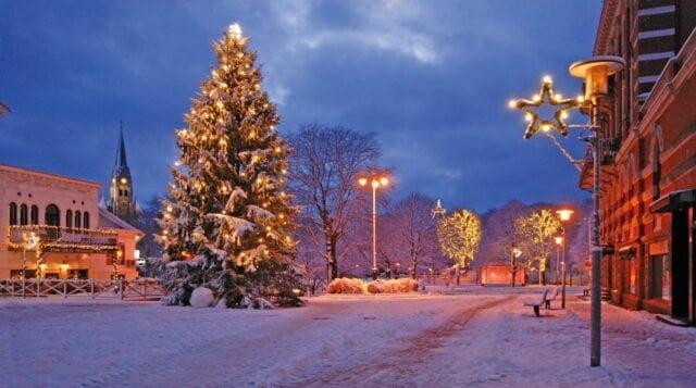 Digital julmarknad i Lysekil